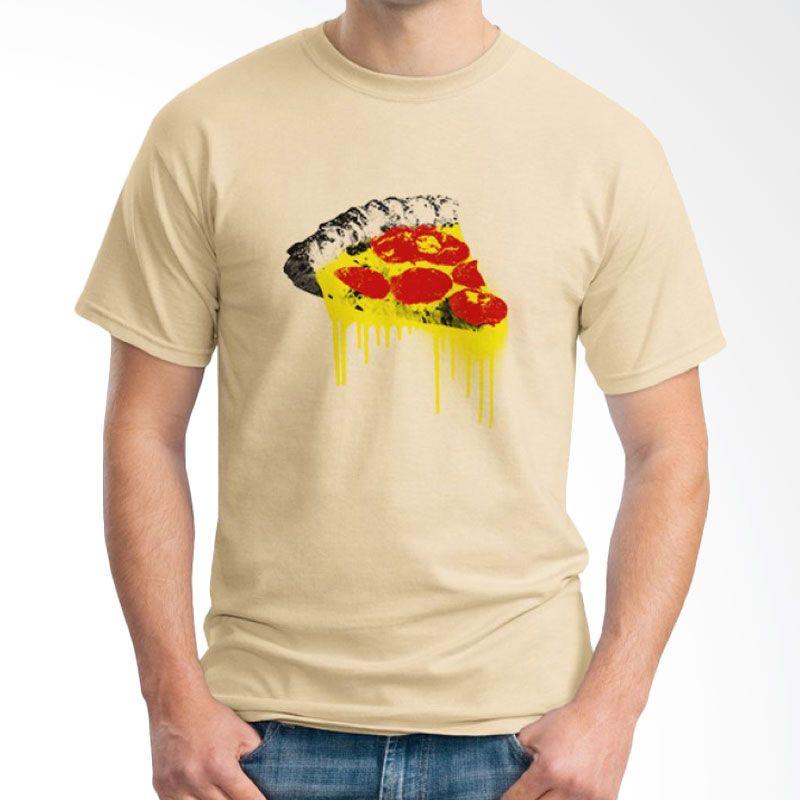 Ordinal Foodtastic 07 Coklat Krem T-Shirt Pria