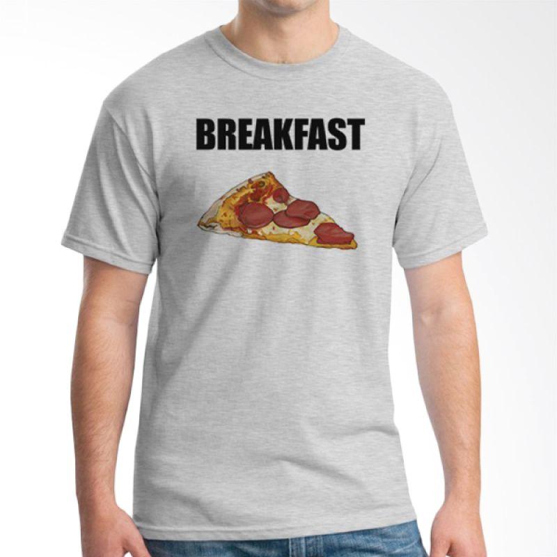 Ordinal Foodtastic 13 Abu-abu T-Shirt Pria