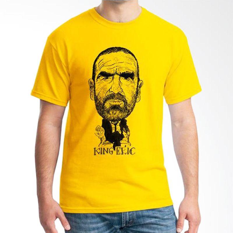 Ordinal Football Player Edition 38 Kuning T-Shirt Pria