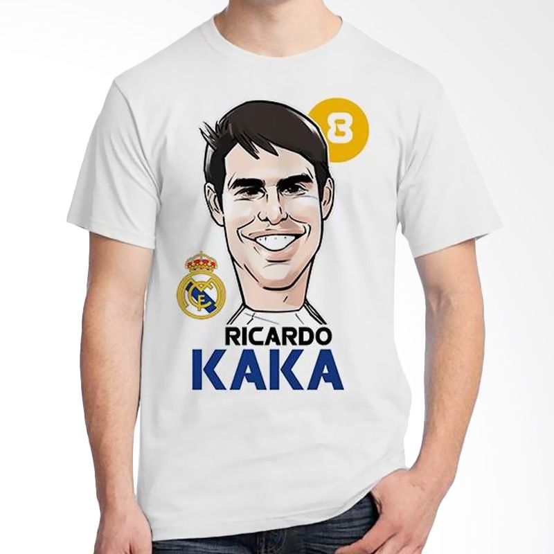 Ordinal Football Player Edition Kaka 36 Putih Kaos Pria