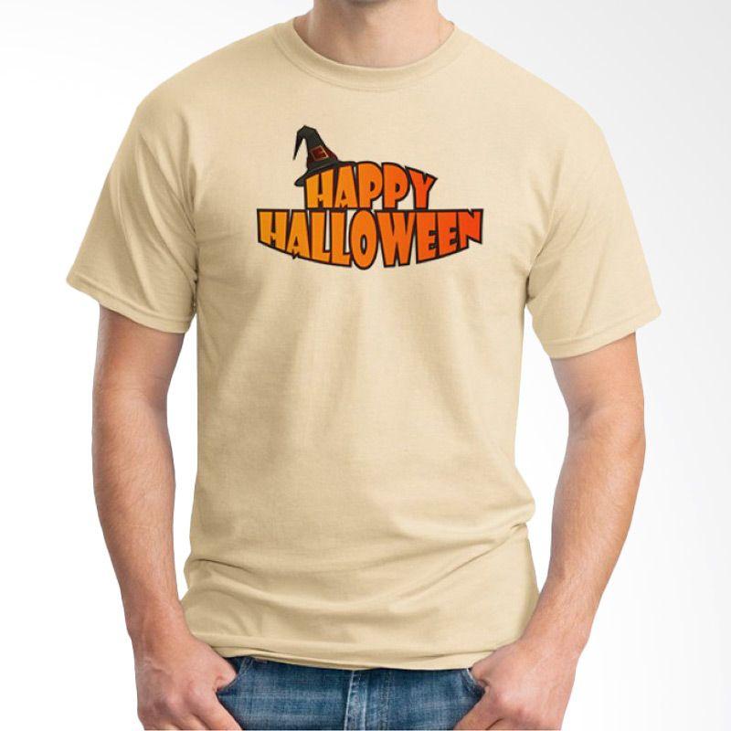 Ordinal Happy Halloween 04 Krem Kaos Pria