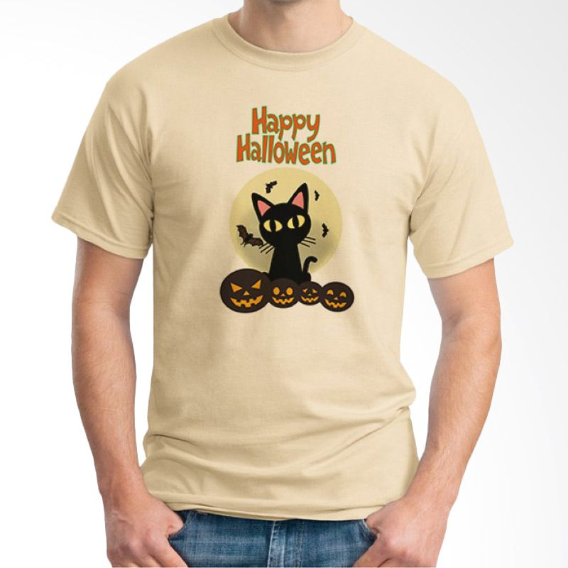 Ordinal Happy Halloween 07 Krem Kaos Pria
