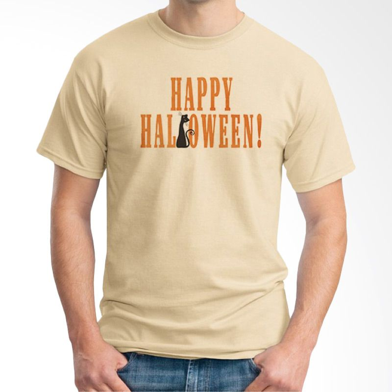 Ordinal Happy Halloween 09 Krem Kaos Pria