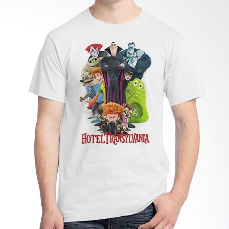 Ordinal Hotel Transylvania Edition 01 Putih T-shirt