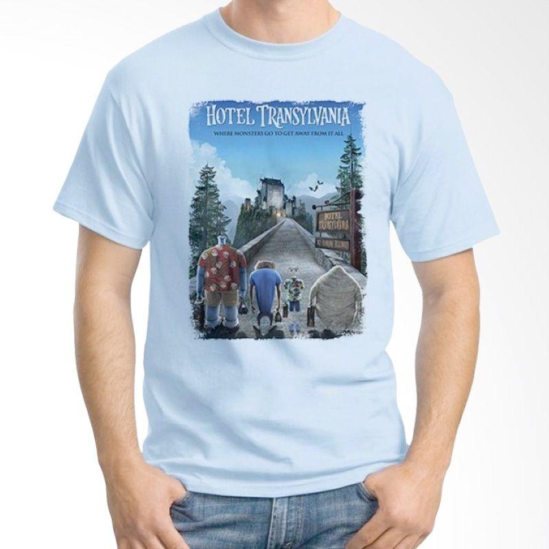 Ordinal Hotel Transylvania Edition 04 Biru Muda T-shirt