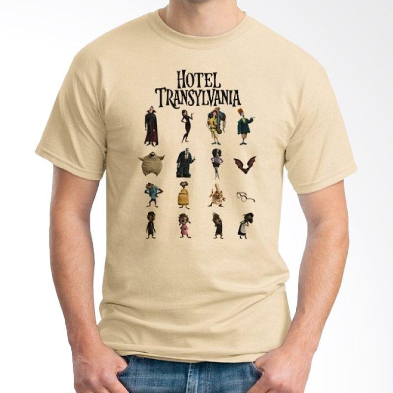 Ordinal Hotel Transylvania Edition 05 Coklat Krem T-Shirt Pria