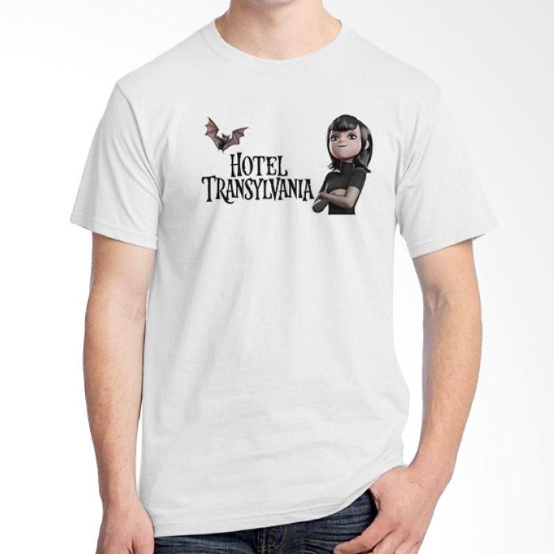 Ordinal Hotel Transylvania Edition 08 Putih Kaos Pria