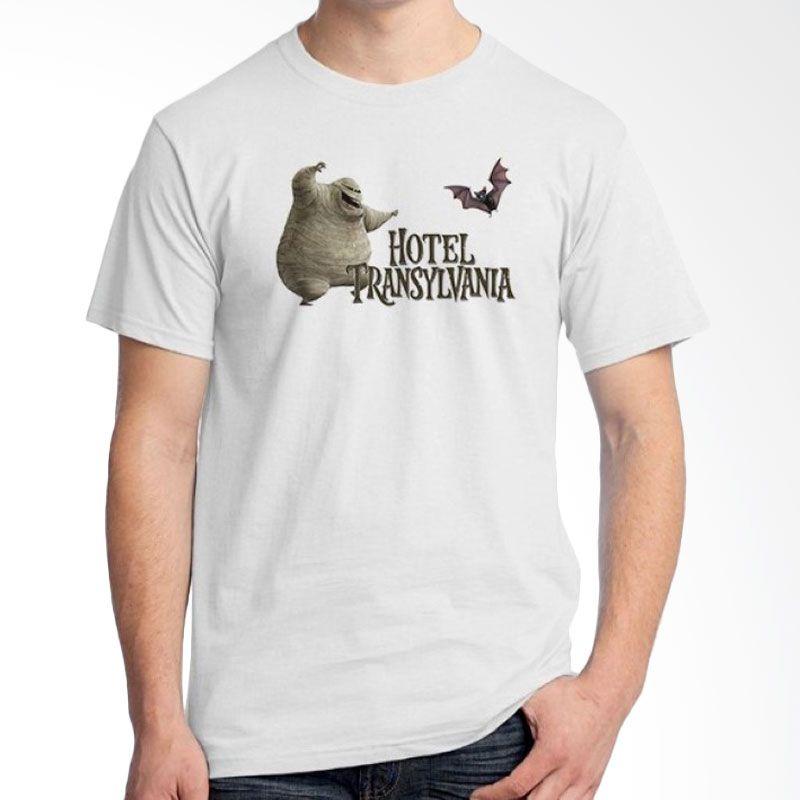 Ordinal Hotel Transylvania Edition 12 Putih Kaos Pria