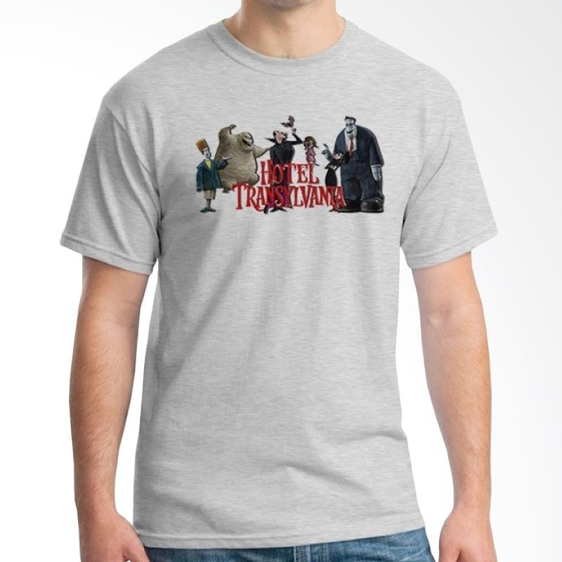 Ordinal Hotel Transylvania Edition 14 Grey Kaos Pria