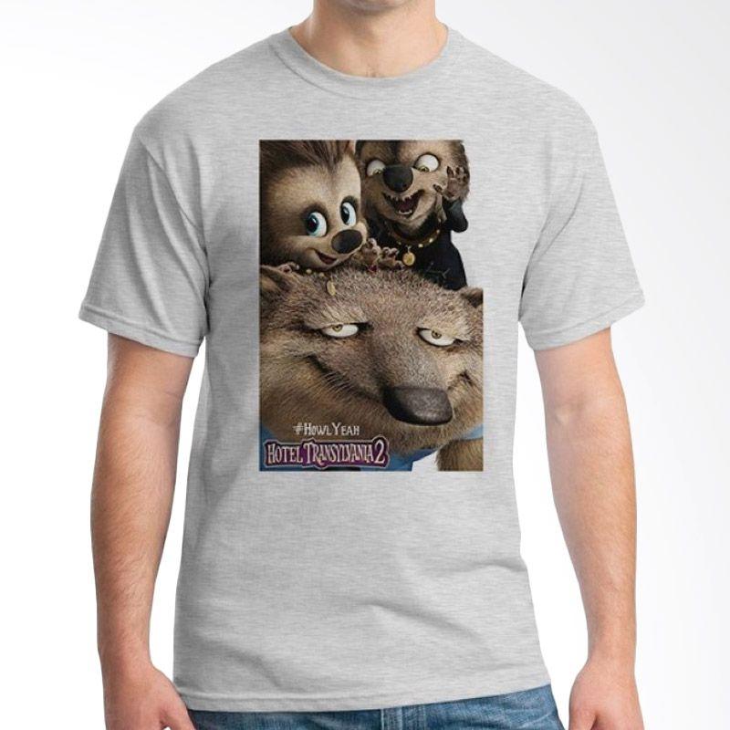 Ordinal Hotel Transylvania Edition 21 Abu-abu T-Shirt Pria