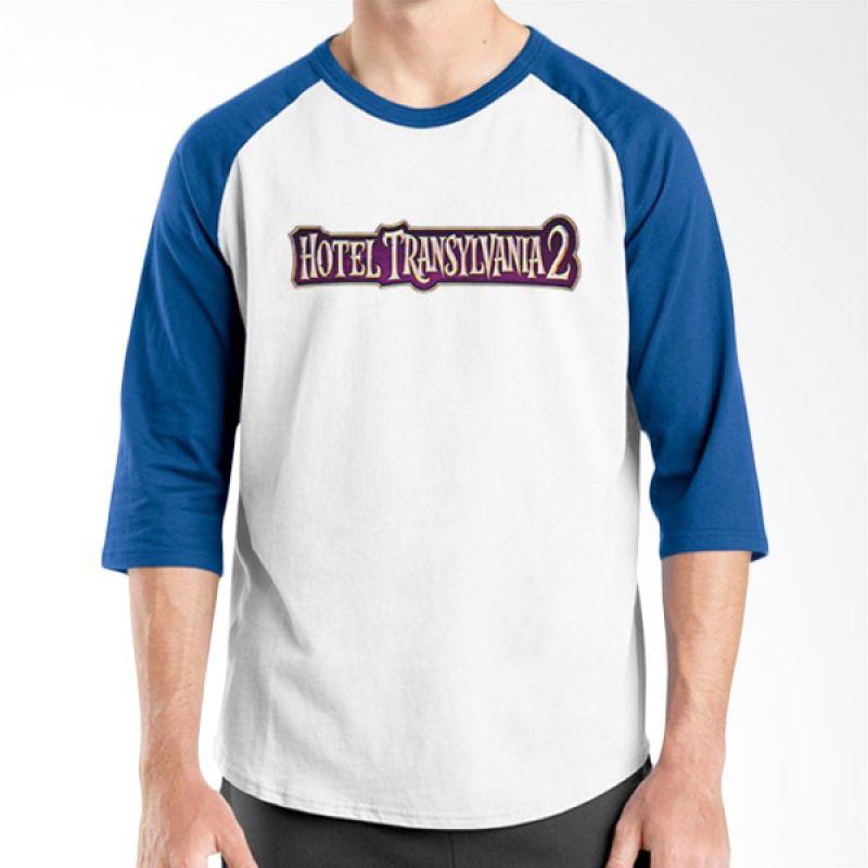 Ordinal Hotel Transylvania Edition 23 Raglan Biru Putih T-Shirt Pria