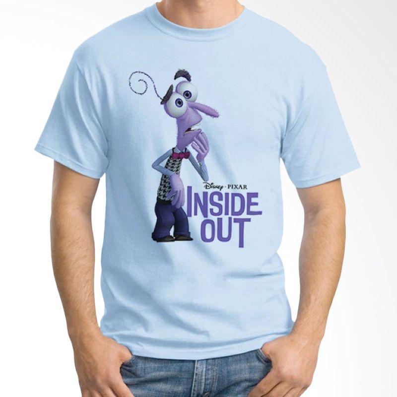 Ordinal Inside Out 12 Biru Muda Kaos Pria