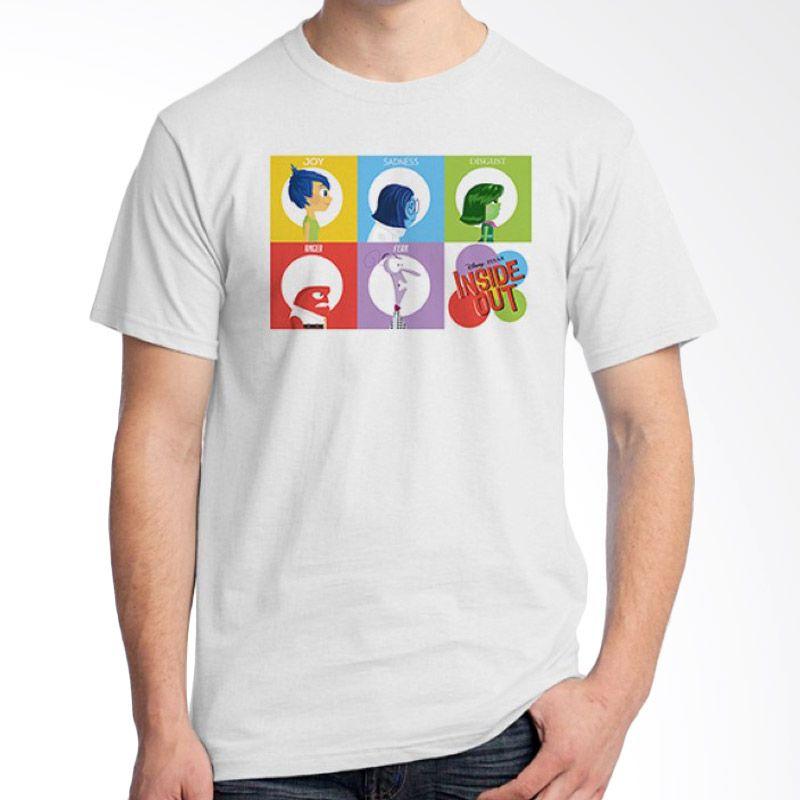 Ordinal Inside Out 14 Putih T-Shirt Pria