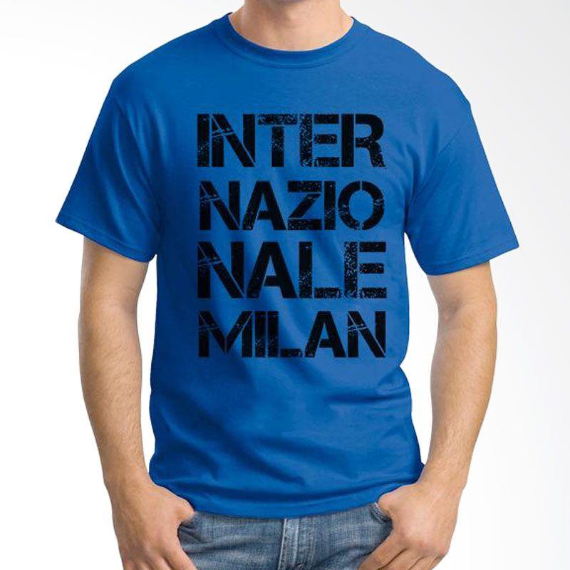Ordinal Inter Milan Edition 01 Biru Tua T-Shirt Pria
