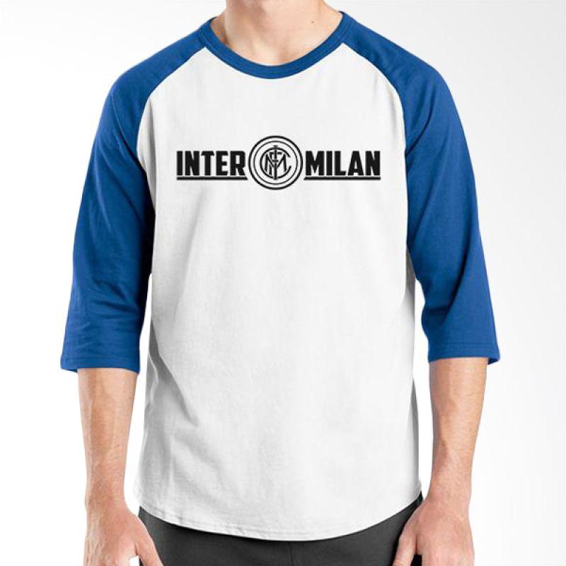 Ordinal Inter Milan Edition 02 Raglan Biru Putih T-Shirt Pria