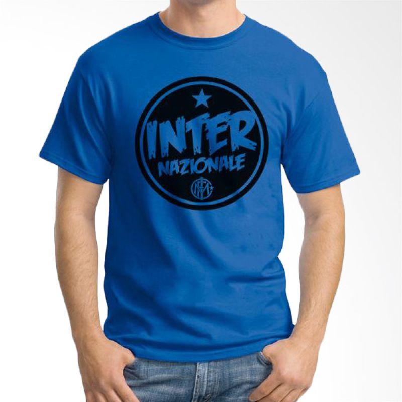 Ordinal Inter Milan Edition 06 Biru Tua T-Shirt Pria