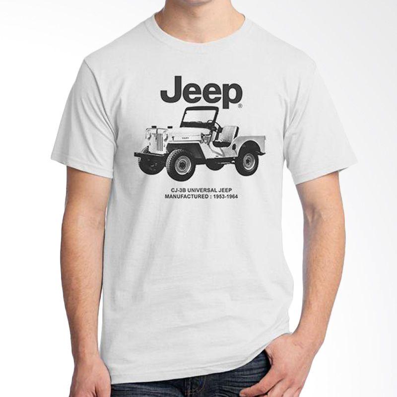 Ordinal Jeep Series Edition 06 Putih Kaos Pria