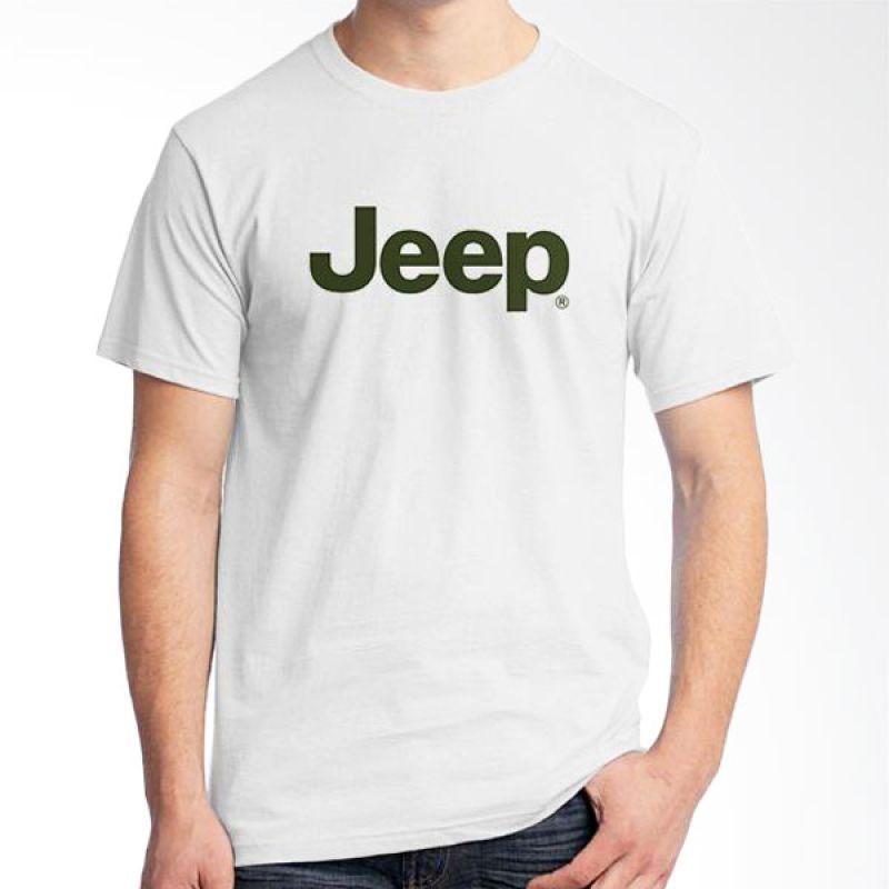 Ordinal Jeep Series Edition 09 Putih T-Shirt Pria