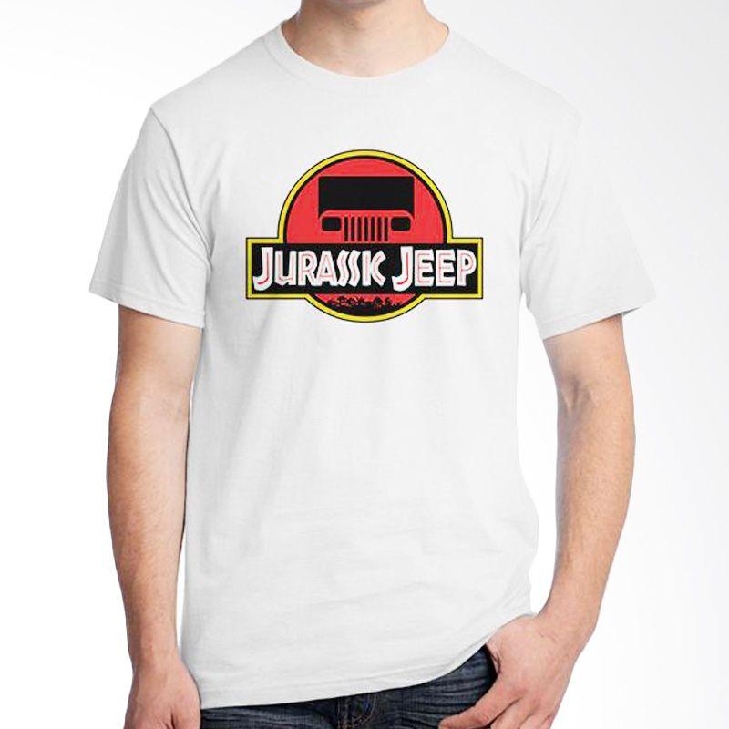 Ordinal Jeep Series Edition 10 Putih Kaos Pria