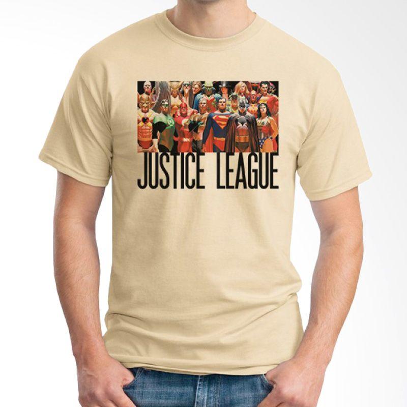 Ordinal Justice League Edition 06 Coklat Krem Kaos Pria