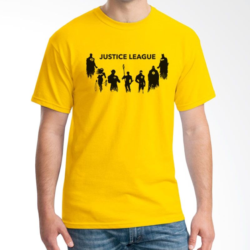 Ordinal Justice League Edition 12 Kuning Kaos Pria