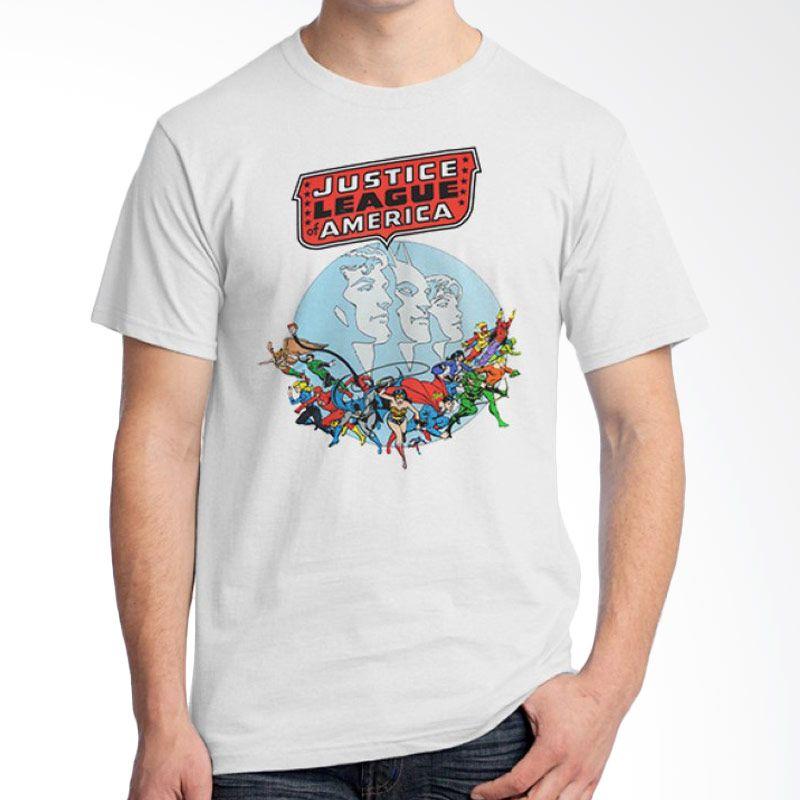 Ordinal Justice League Edition 13 Putih Kaos Pria