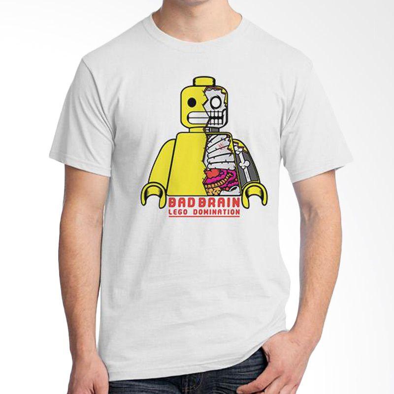 Ordinal Lego Edition 01 Putih Kaos Pria