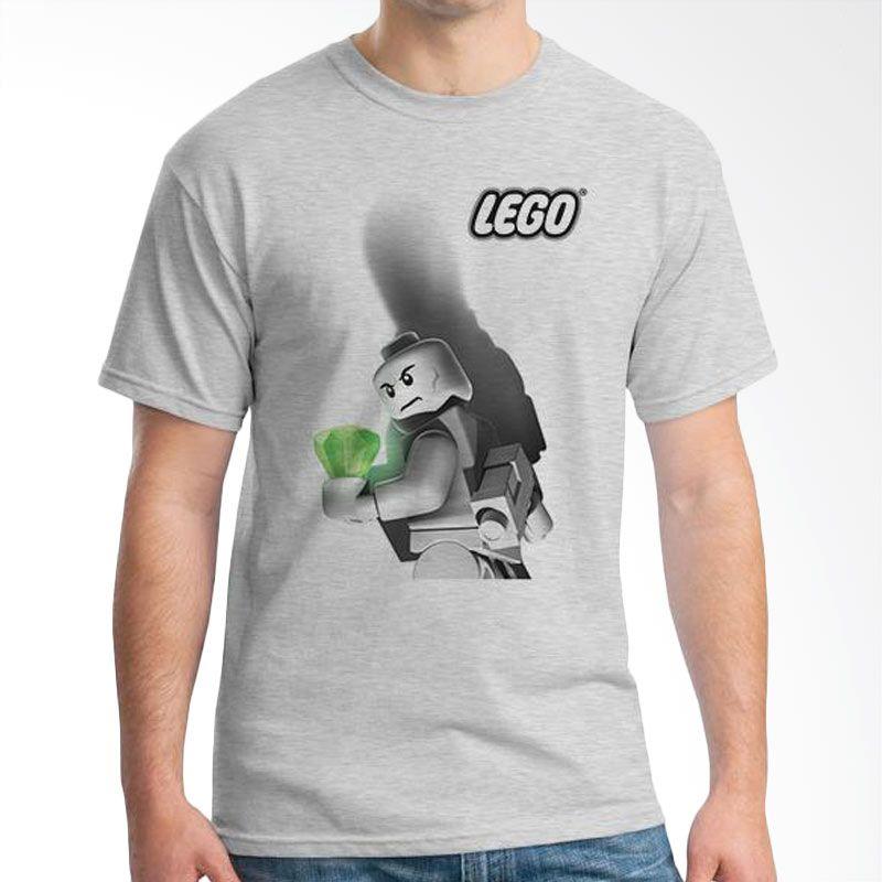 Ordinal Lego Edition 03 Abu-Abu Kaos Pria