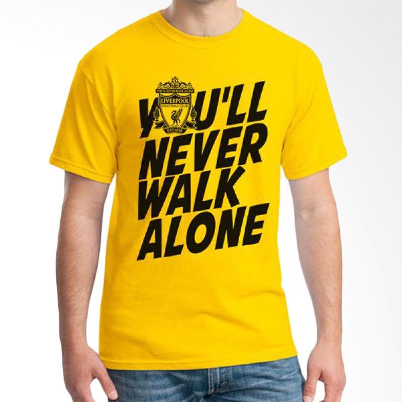 Ordinal Liverpool 03 Kuning Kaos Pria