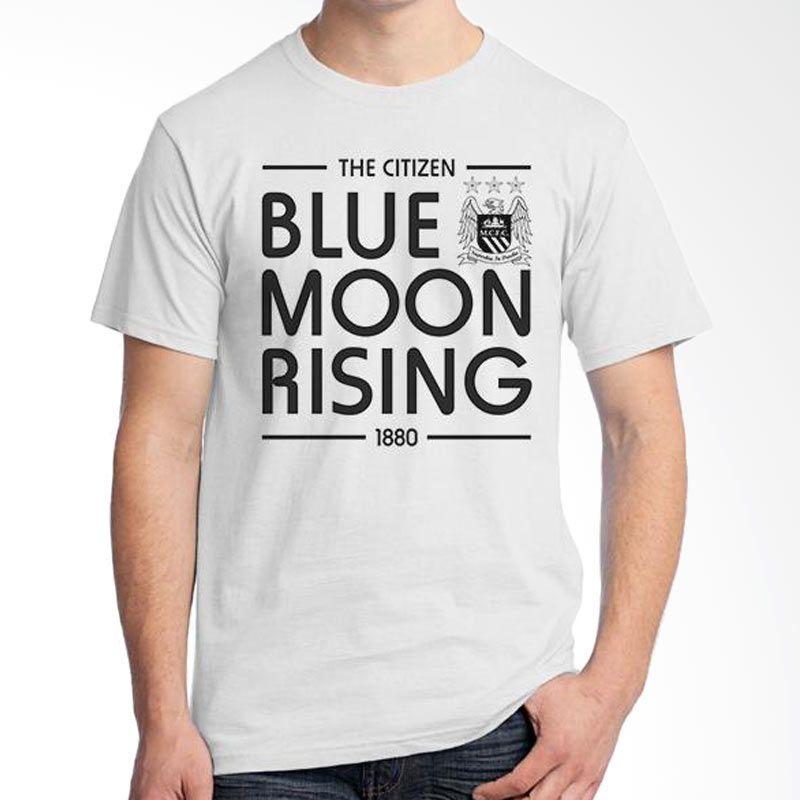 Ordinal Manchester City 06 Putih Kaos Pria