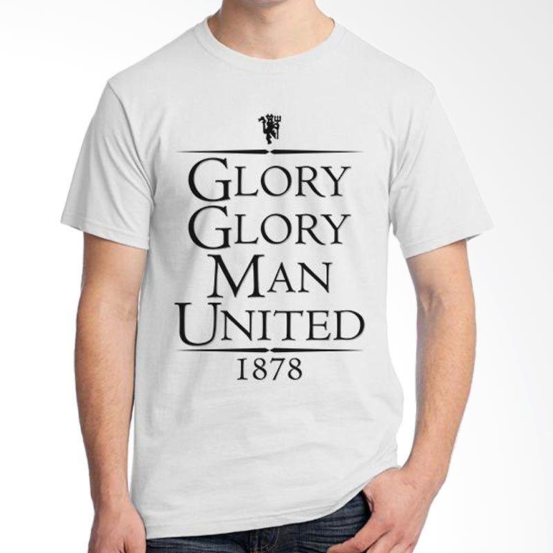 Ordinal Manchester United Edition 03 Putih Kaos Pria