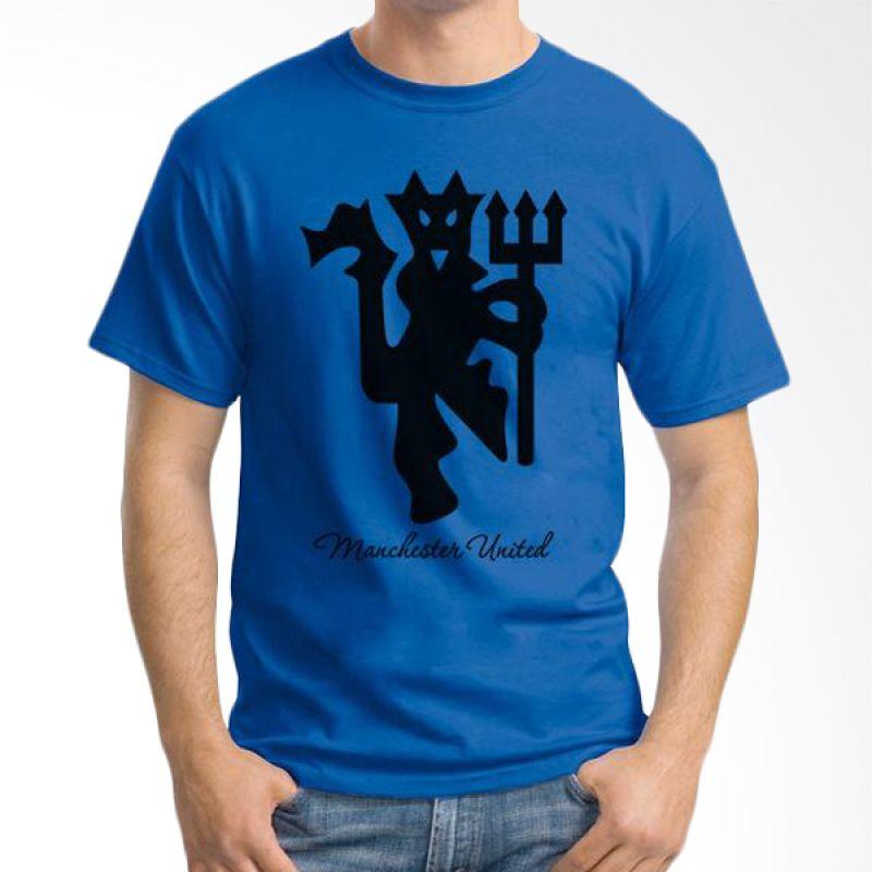Ordinal Manchester United Edition 05 Biru Tua Kaos Pria