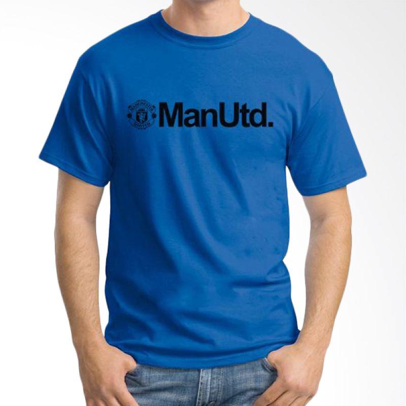 Ordinal Manchester United Edition 06 Biru Tua Kaos Pria