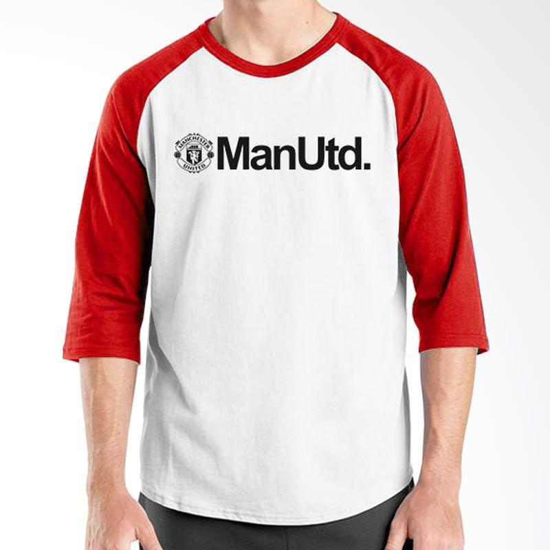 Ordinal Manchester United Edition 06 Raglan Putih Merah T-Shirt Pria