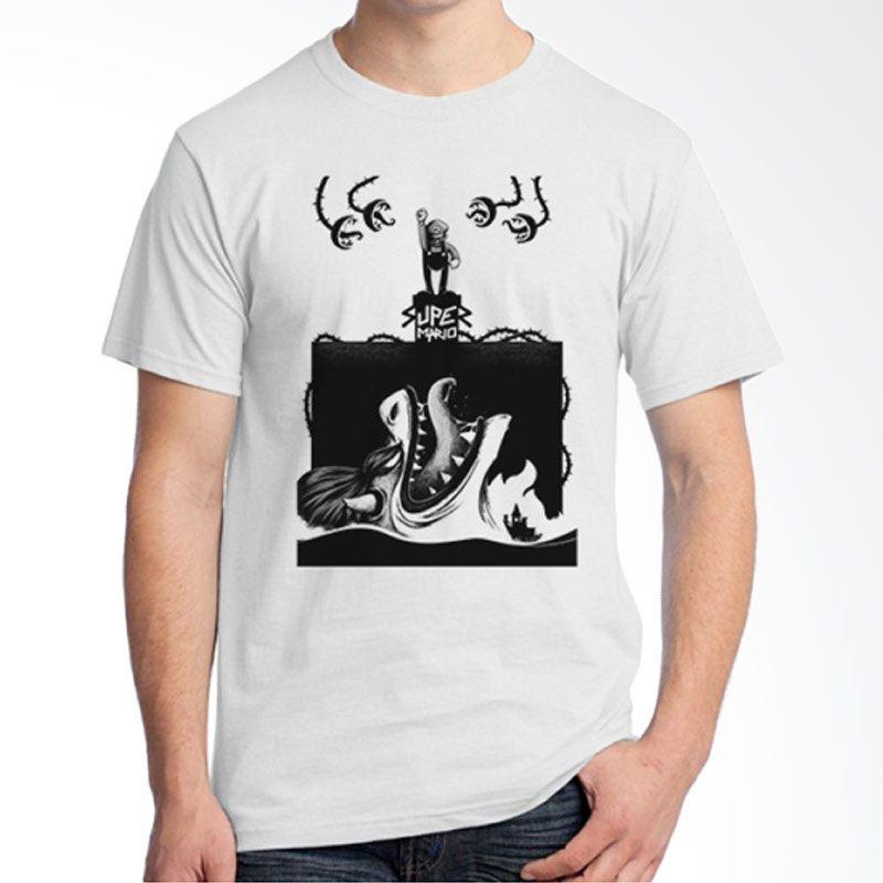 Ordinal Mario Artworks 06 Putih T-Shirt Pria