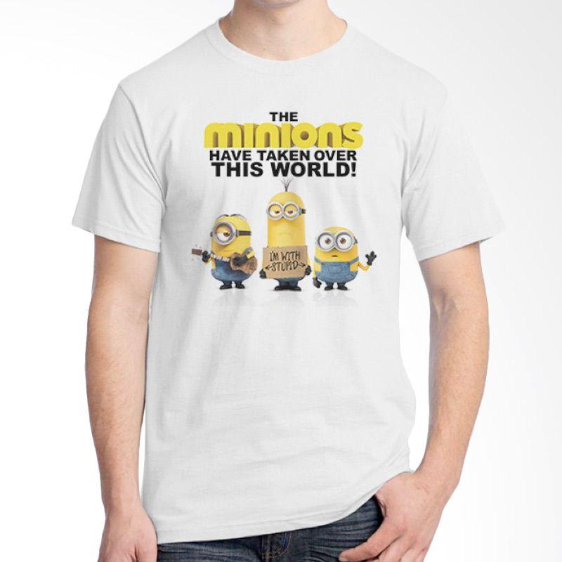 Ordinal Minions 01 Putih T-shirt