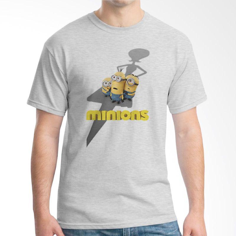 Ordinal Minions 02 Abu-abu T-shirt