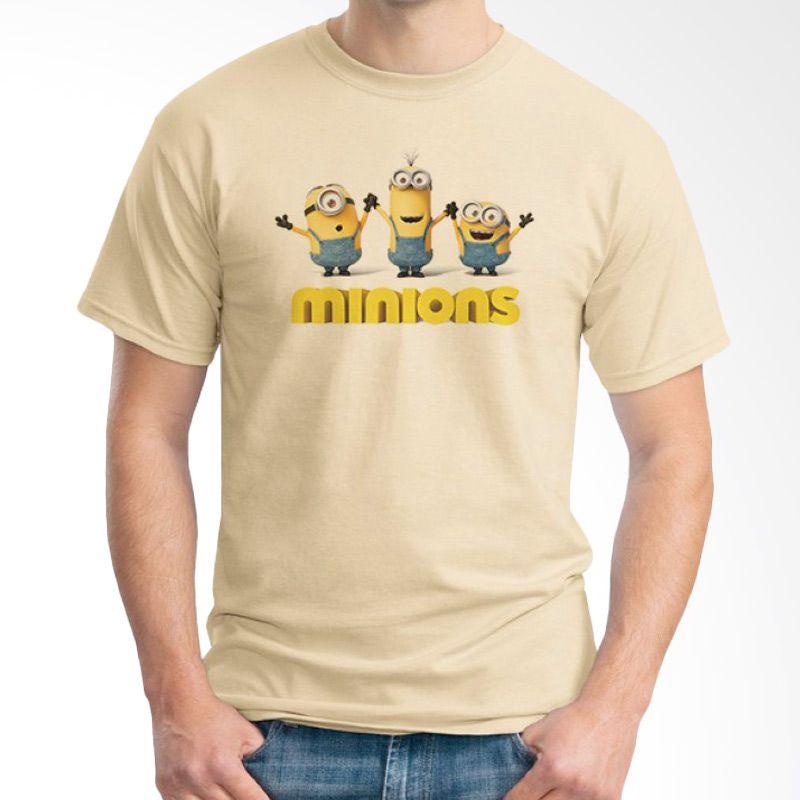 Ordinal Minions 03 Krem T-shirt