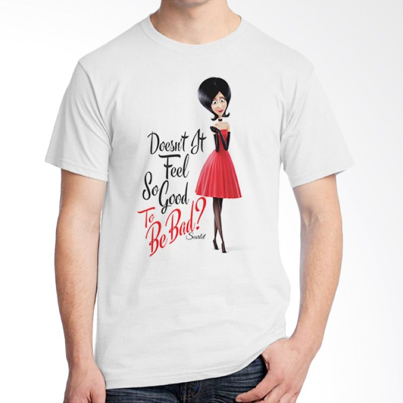 Ordinal Minions 05 Putih T-Shirt Pria