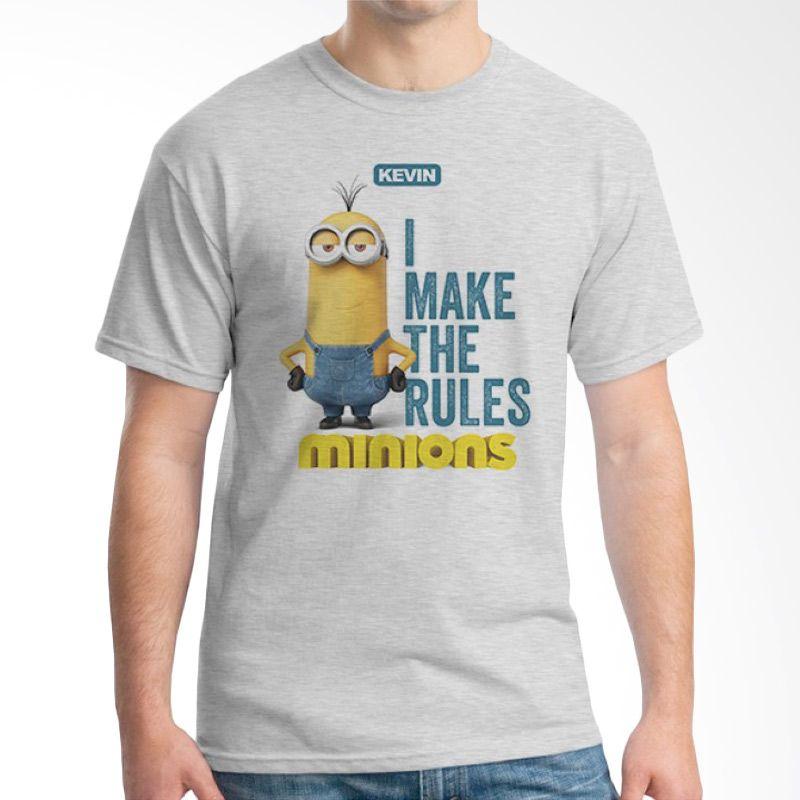 Ordinal Minions 07 Abu-abu T-shirt