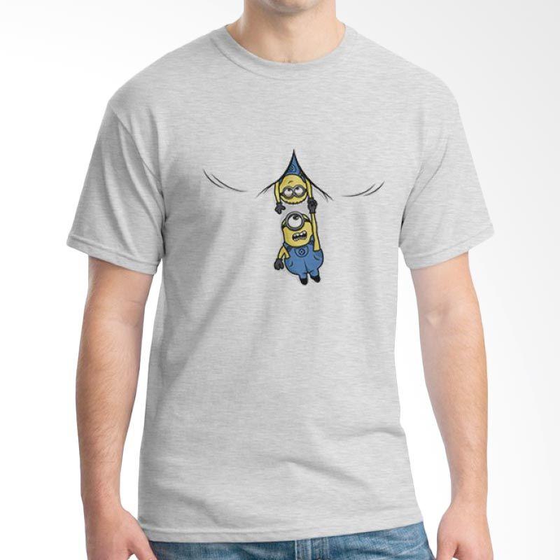 Ordinal Minions 13 Abu-abu T-shirt