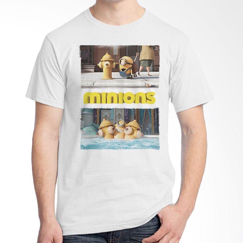 Ordinal Minions 15 Putih T-shirt