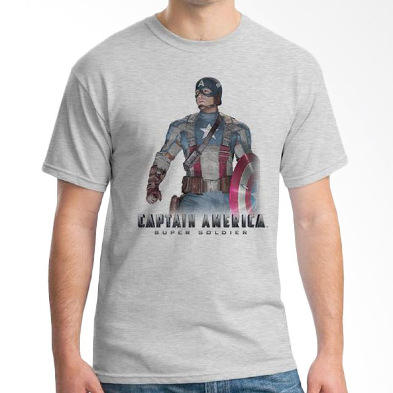 Ordinal New Captain America 08 Abu-Abu Kaos Pria