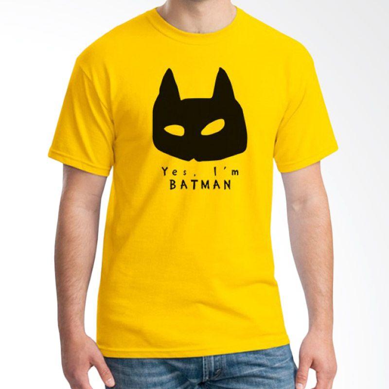 Ordinal Pop Culture 10 Kuning T-Shirt Pria