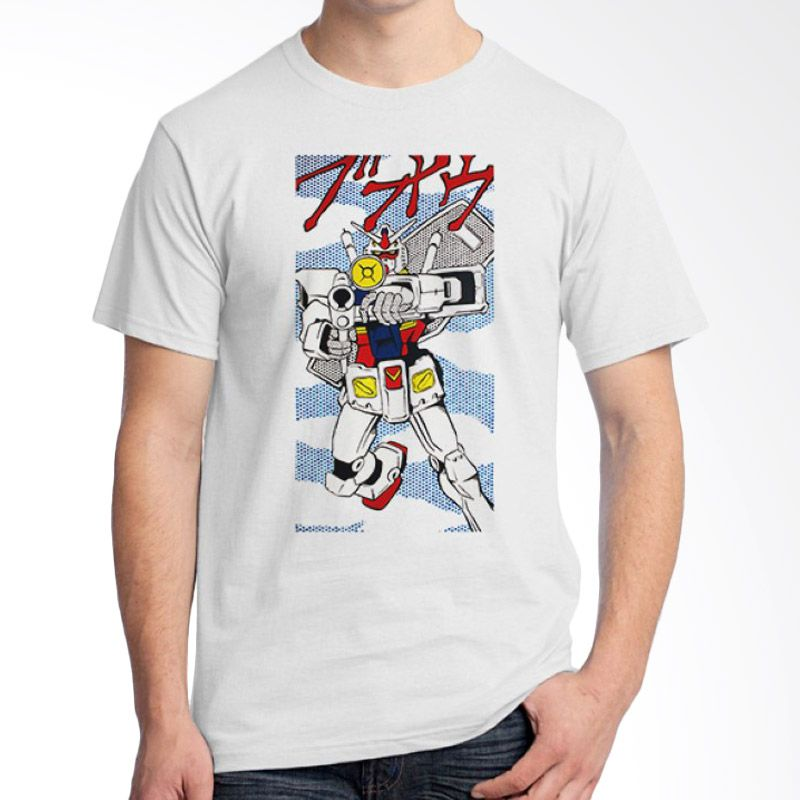 Ordinal Pop Culture 11 Putih T-Shirt Pria