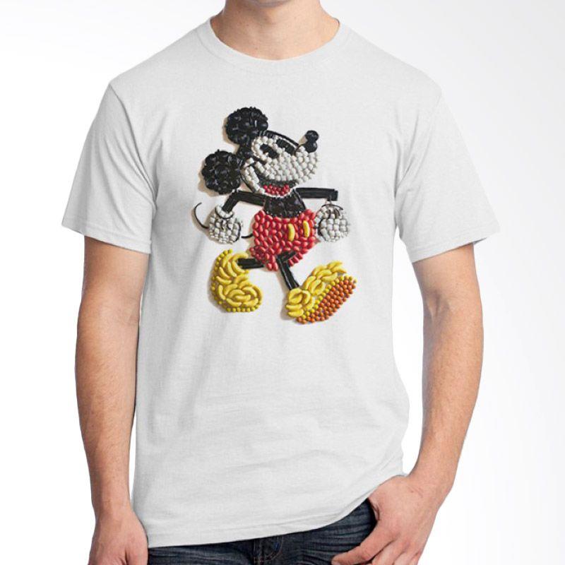 Ordinal Pop Culture 17 Putih T-Shirt Pria