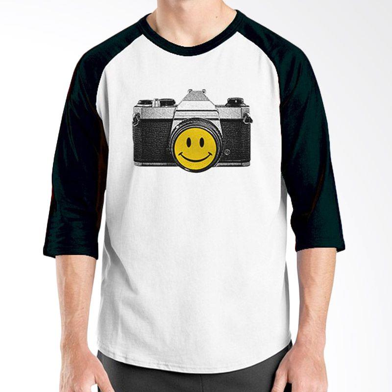 Ordinal Raglan About Photography Edition 02 Hitam Putih Kaos Pria