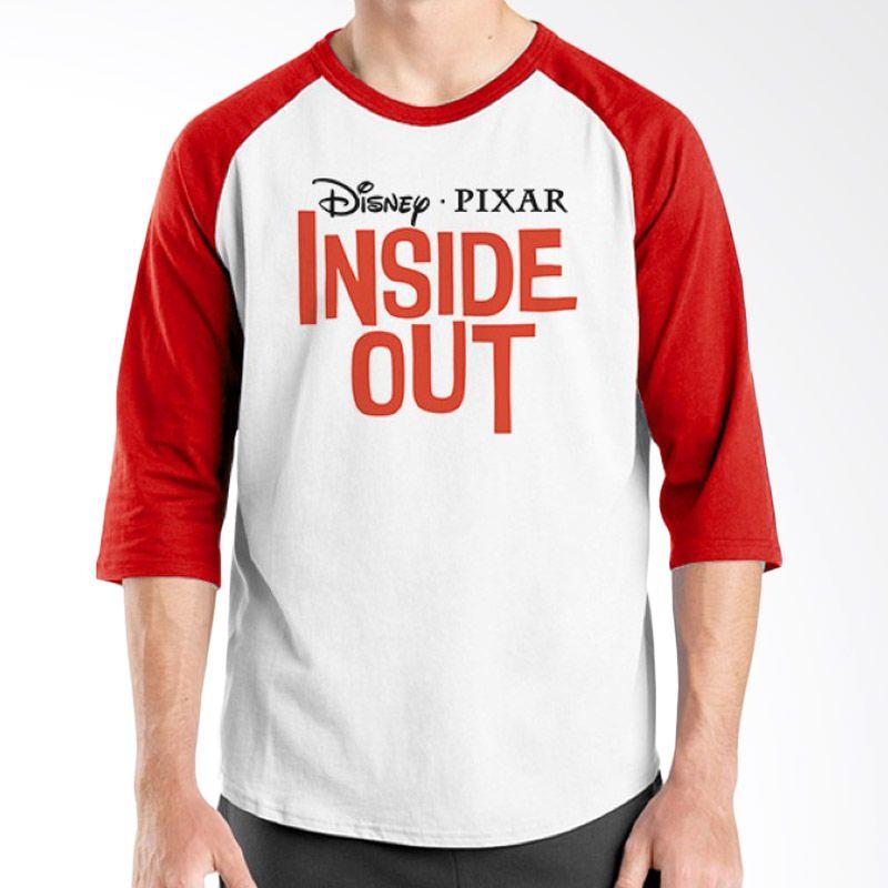Ordinal Raglan Inside Out Edition 16 Merah Putih Kaos Pria
