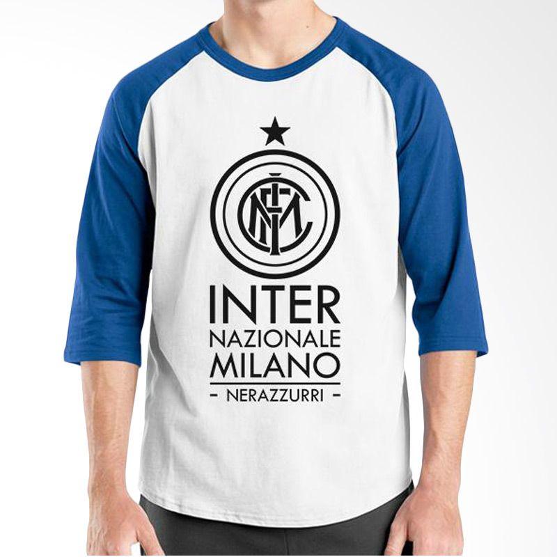 Ordinal Raglan Inter Milan Edition 05 Biru Putih Kaos Pria