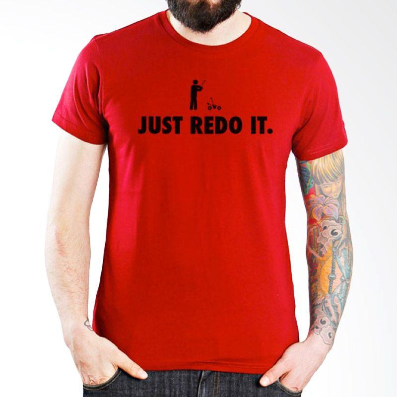 Ordinal RC Car 03 Merah Kaos Pria